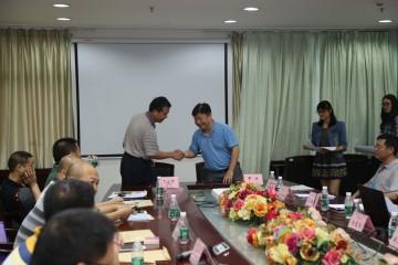 邹院长与15间基层医院负责人签署《对口帮扶协议》2